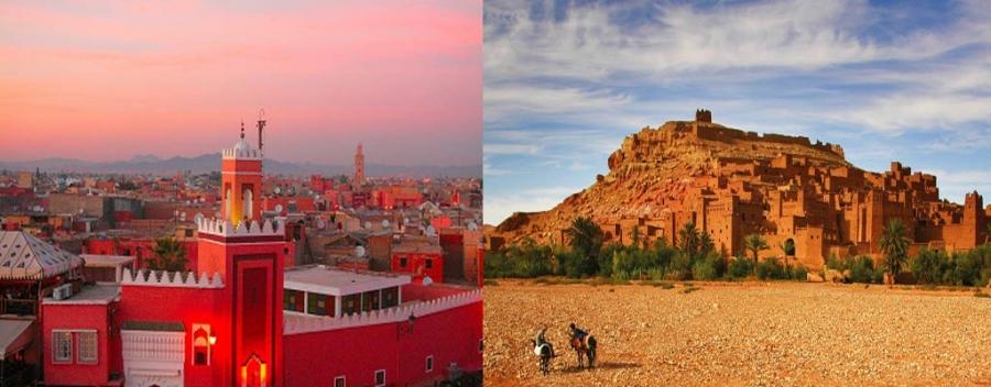 voyage maroc tunisie